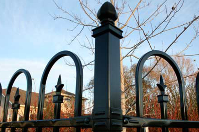 Crescent Ornamental Fence