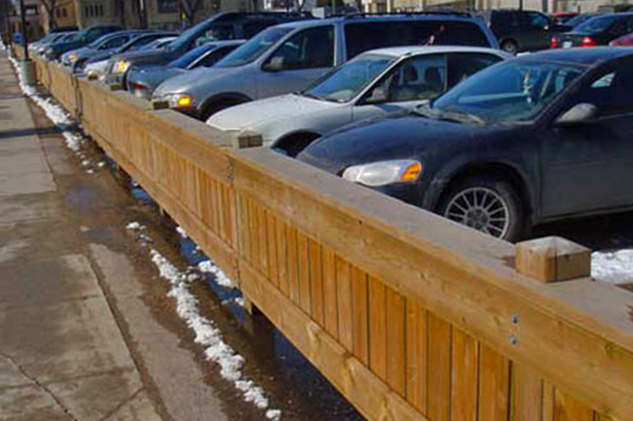Parking Fences